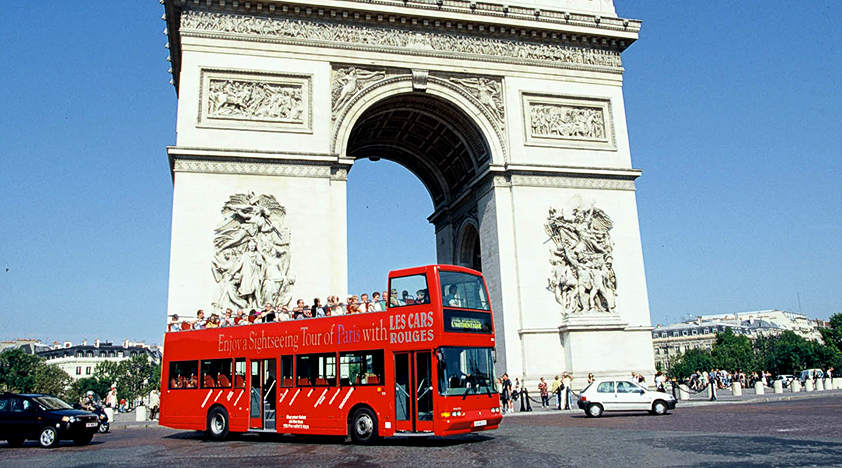 hop on paris bus tour one day pass from 37 peek. Black Bedroom Furniture Sets. Home Design Ideas