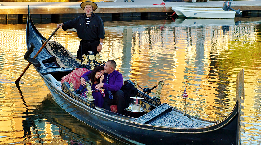 Classic Gondola Cruise In Newport Beach In Los Angeles